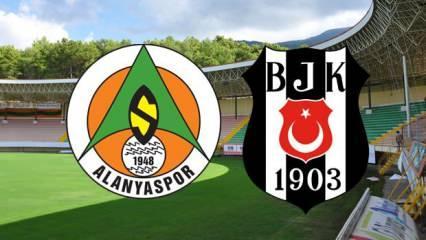 Alanyaspor Beşiktaş maçı saat kaçta? muhtemel kadrolar belli oldu!