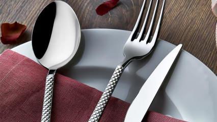 Çatal, kaşık ve bıçak alırken nelere dikkat edilmeli?