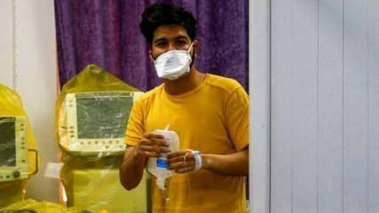 Görüntüsü ilk kez yayınlandı! Koronavirüs Türkiye'nin komşusuna sıçradı
