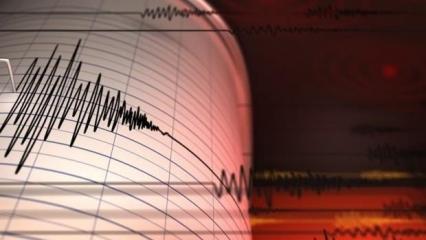 Son dakika Malatya'da korkutan deprem!
