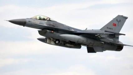 Türk savaş uçakları hava sahası engelini böyle aştı!