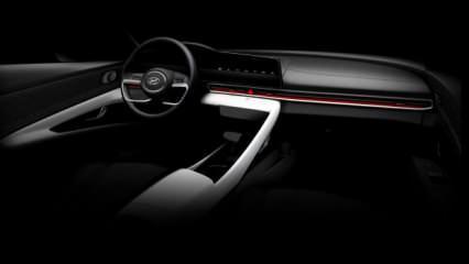 Hyundai Elantra'nın görselleri sızdırıldı