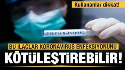 Soğuk algınlığı ilaçları koronavirüs enfeksiyonunu arttırabilir