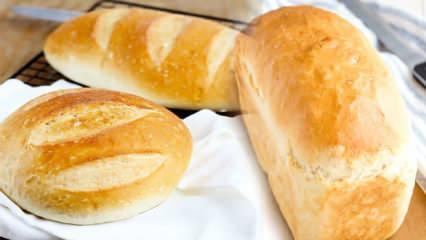 Evde güvenilir ekmek yapımı tarifi | Eşsiz kokan pamuk gibi hijyenik ekmek nasıl yapılır?