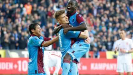 Trabzonspor yenilgiyi unuttu!