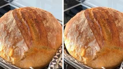 Köy ekmeği nedir? Nermin Yazıtaş'tan çıtır çıtır köy ekmeği tarifi