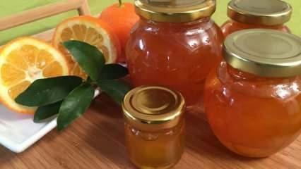 Turunç reçeli nasıl yapılır? Enfes turunç reçel tarifi