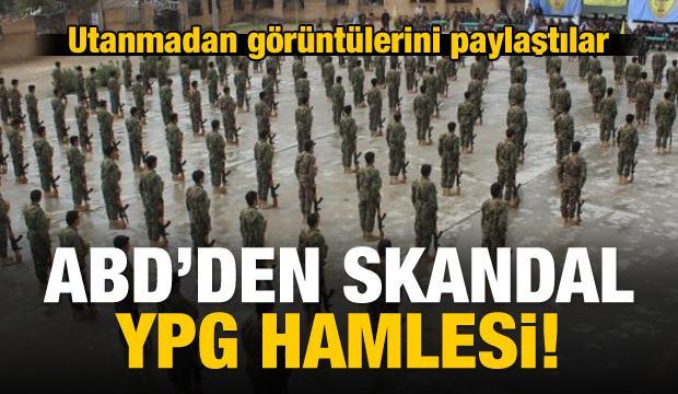 ABD'den skandal YPG hamlesi!