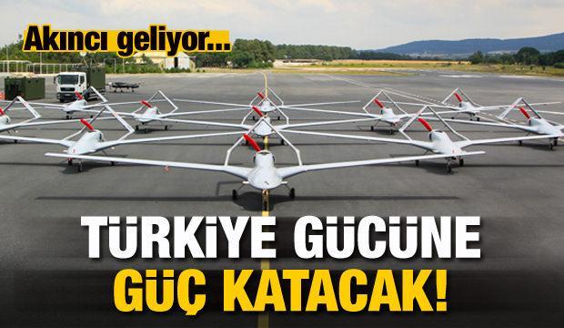 Akıncı geliyor! Türkiye gücüne güç katacak