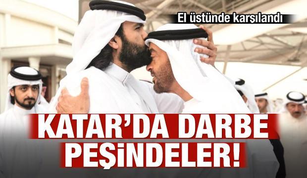 BAE, Katar'da darbe peşinde!