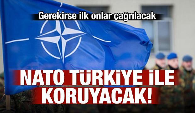 'NATO güvenlik duvarını Türkiye ile koruyacak'