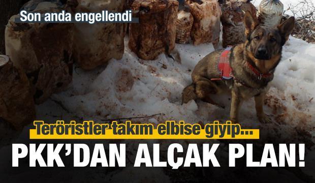 PKK'nın alçak planı engellendi