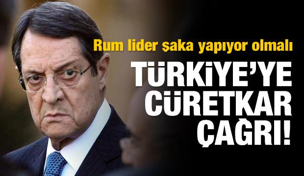 Rum Kesimi'nden Türkiye'ye şaka gibi çağrı