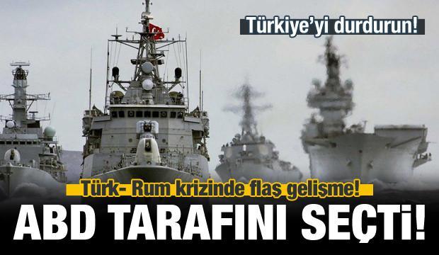 Türk- Rum krizinde yeni perde! ABD tarafını seçti