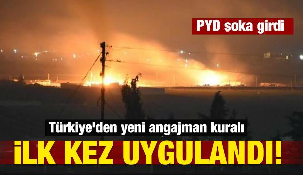 Türkiye'den yeni angajman kuralı İlk kez uygulandı