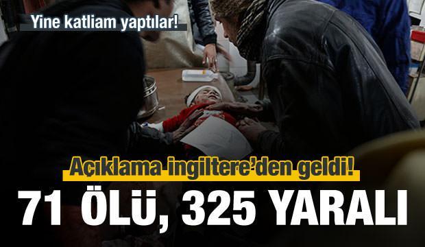 Yine katliam yaptılar: 71 ölü, 325 yaralı