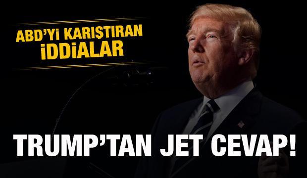 ABD'de kavga büyüyor! Trump'tan jet cevap!
