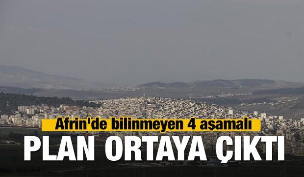 Afrin'de bilinmeyen 4 aşamalı plan ortaya çıktı