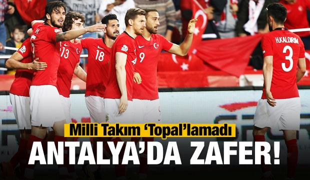 Milliler 'Topal'lamadı! Antalya'da zafer...