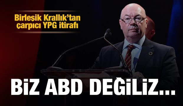 Burt: Biz ABD değiliz, YPG'yi silahlandırmıyoruz
