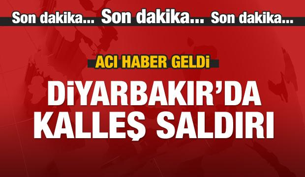 Diyarbakır'da çatışma! Acı haber geldi