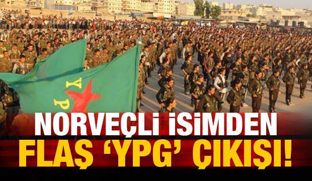 Norveç'ten flaş 'YPG' çıkışı!
