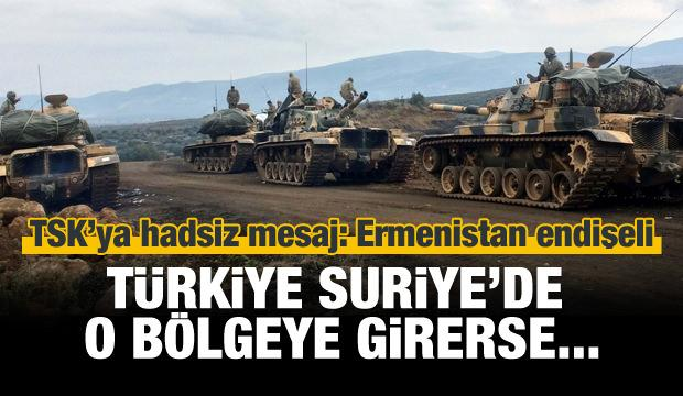 TSK'ya hadsiz mesaj: Ermenistan endişeli!