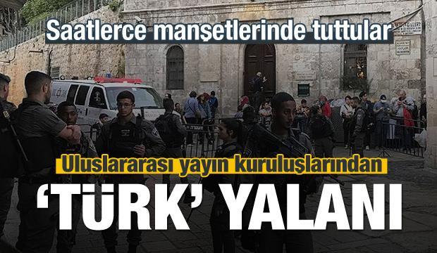 Uluslararası yayın kuruluşlarından 'Türk' yalanı