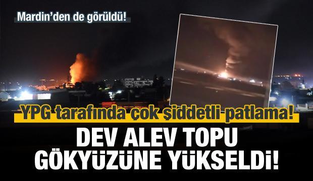 Kamışlı'da büyük patlama!