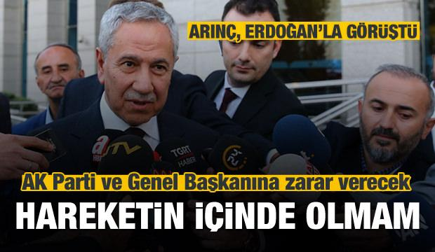 Bülent Arınç, Cumhurbaşkanı Erdoğan'la görüştü