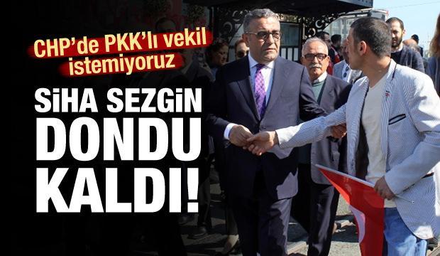 Taksim'de CHP'li vekile protesto!