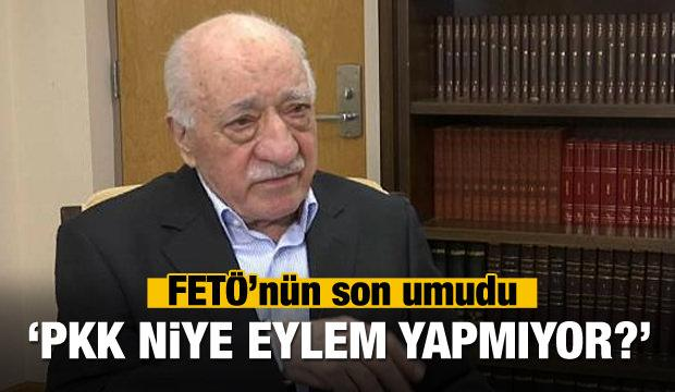FETÖ'nün son umudu: PKK neden eylem yapmıyor?