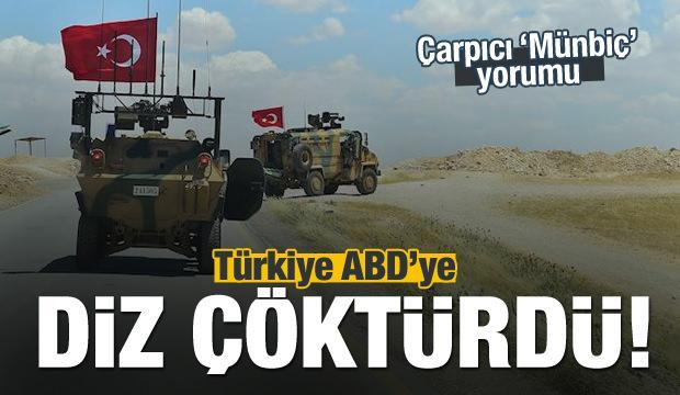 'ABD Türkiye karşısında diz çöktü'