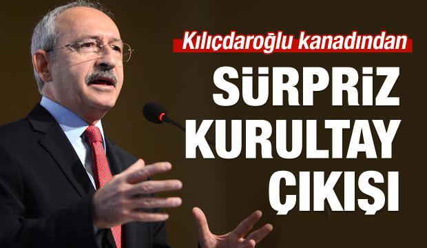 Kılıçdaroğlu kanadından sürpriz kurultay çıkışı