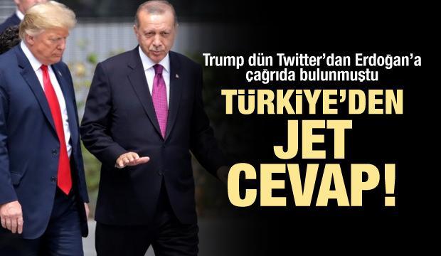Türkiye'den Trump'a Brunson cevabı