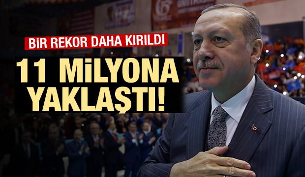 BAŞKAN Erdoğan: Değişim kongrede de sürecek