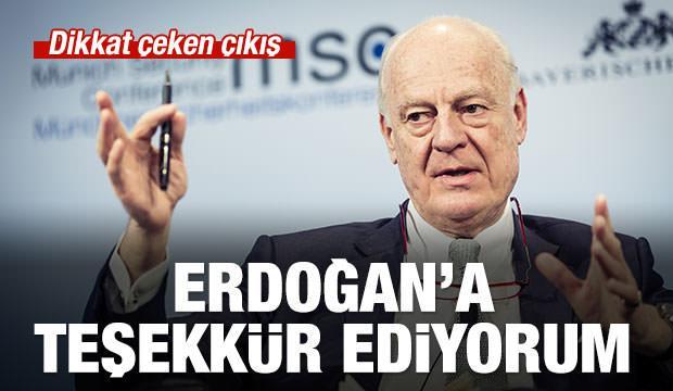Mistura: Erdoğan'a teşekkür ediyorum