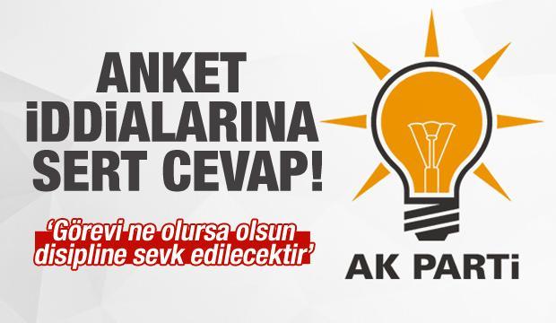 AK Parti'den 'anket' iddialarına cevap!