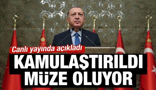 Erdoğan açıkladı: Ersoy'un evi müze oluyor!