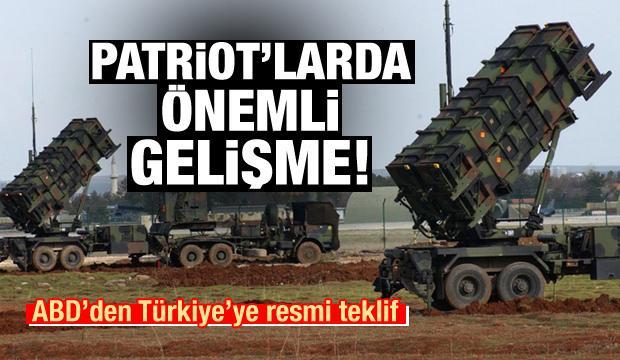 ABD'den Türkiye'ye Patriot teklifi!