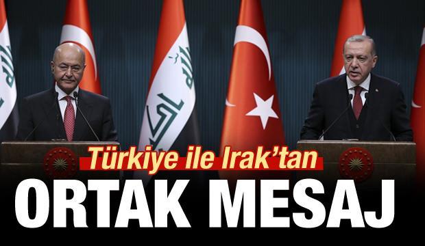 Türkiye ve Irak'tan ortak mesaj