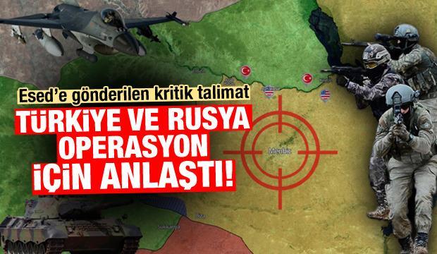Türkiye ve Rusya Fırat'ın doğusu için anlaştı!