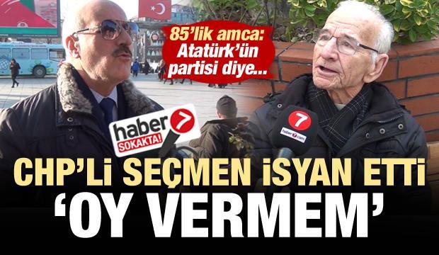 CHP'li vatandaş isyan etti: Oy vermem!