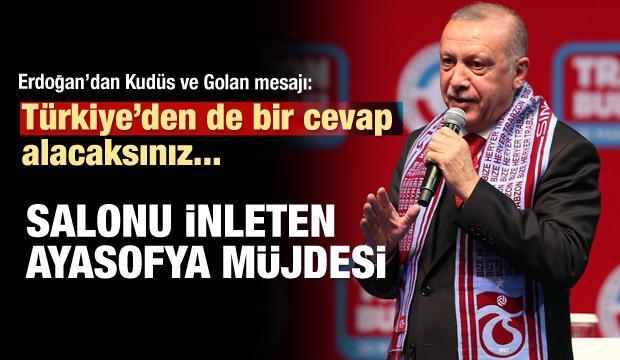 Başkan Erdoğan'dan Ayasofya'nın ismiyle ilgili yeni açıklama