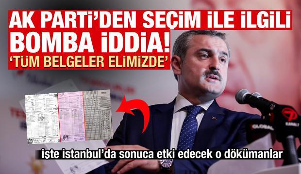 AK Parti'den seçimde büyük usulsüzlük iddiası: Tüm belgeler elimizde
