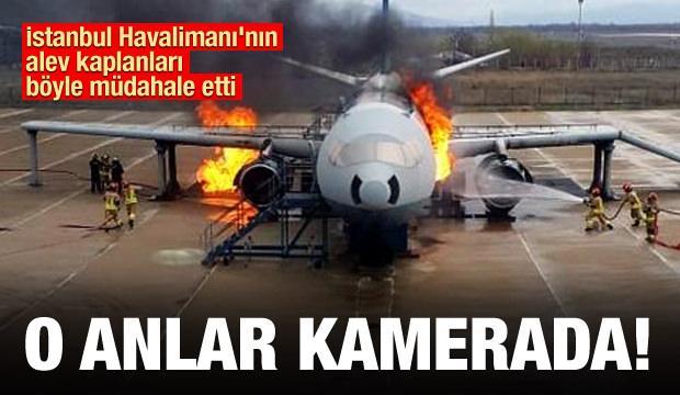 İstanbul Havalimanı'nın alev kaplanları Erzincan'da eğitim görüyor