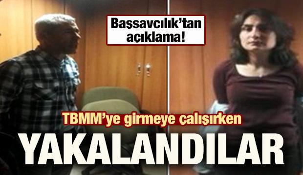 TBMM'de terör eylemi girişimi! 2 DHKP-C'li düzenekle yakalandı