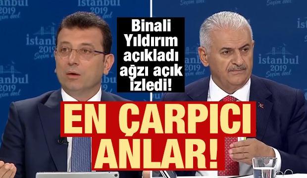 İstanbul 2019 Seçim Özel programına damga vuran anlar