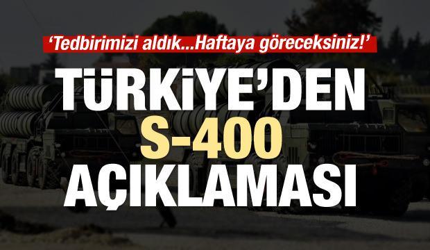 İsmail Demir'den S-400 açıklaması