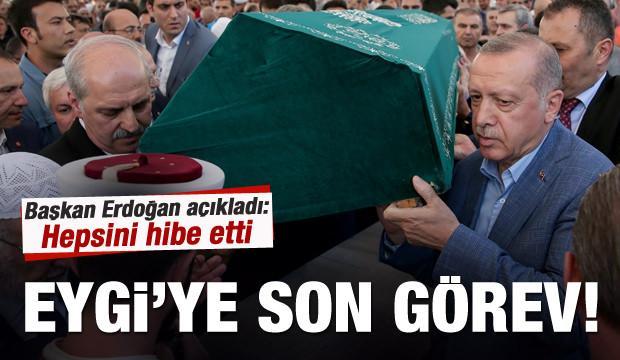 Mehmed Şevket Eygi'ye son görev!